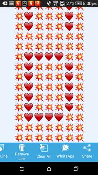 EmojiArt Text apk screenshot