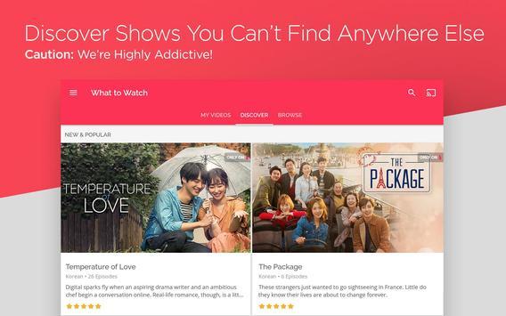 DramaFever: Stream Asian Drama Shows & Movies apk 截圖