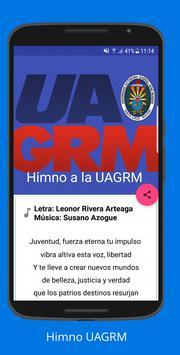 Himno UAGRM poster