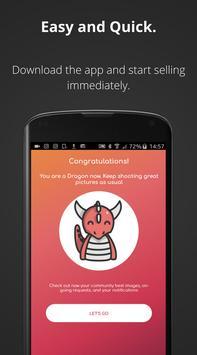 Draagu : Sell your photos apk screenshot