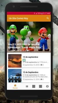 Un Día Como Hoy screenshot 1