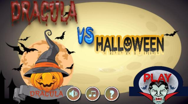 Dracula Vs Halloween poster
