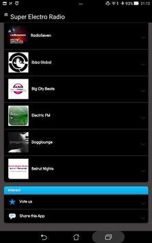 Super Electro Radio screenshot 1