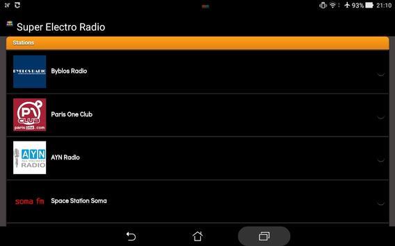 Super Electro Radio screenshot 5