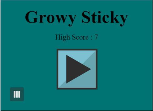 Growy Sticky poster