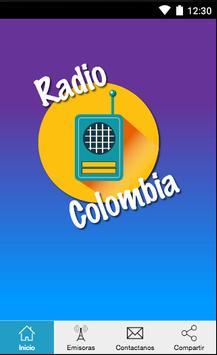 Radios de Colombia Gratis poster