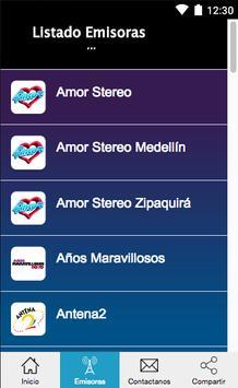 Radios de Colombia Gratis screenshot 1