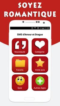 SMS d'Amour et Drague poster