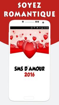 SMS d'Amour et Drague poster