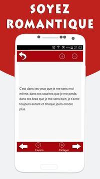 SMS d'Amour et Drague screenshot 10