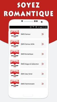 SMS d'Amour et Drague screenshot 1