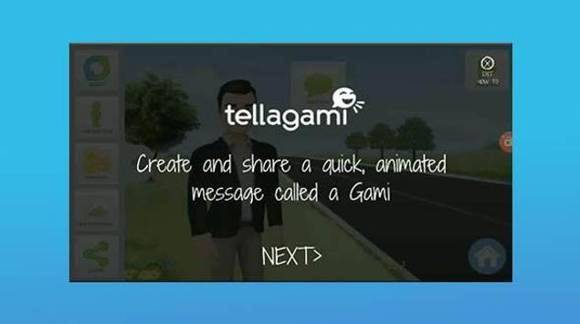 Tellagami for Android Tips screenshot 1