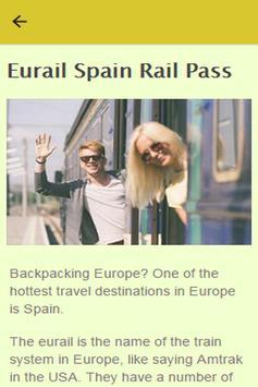 How To Backpack Europe apk screenshot
