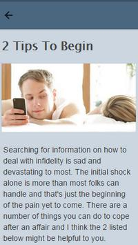 How To Deal With Infidelity apk screenshot