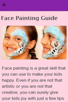 How To Face Paint poster