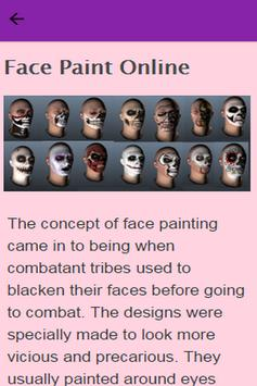 How To Face Paint apk screenshot