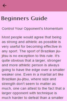 How To Learn Jiu Jitsu apk screenshot