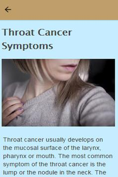 how to detect throat cancer