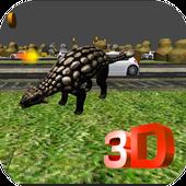 Dinosaur Road Crossing icon
