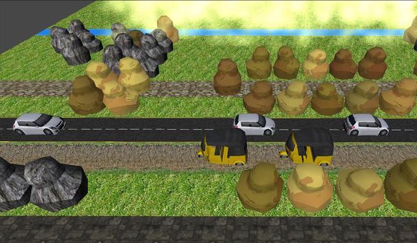 Dinosaur Road Crossing screenshot 2