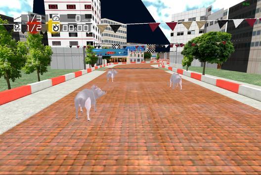 Animal Racing: Pig screenshot 8