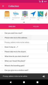 Polish English Offline Dictionary & Translator apk screenshot
