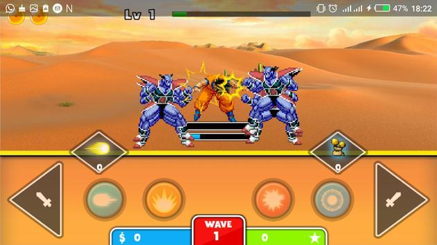 saiyan dragon hero apk screenshot