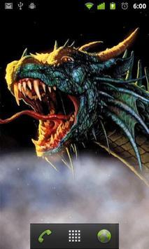 dragon live wallpaper screenshot 1
