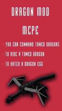 Dragon MOD For MCPE poster