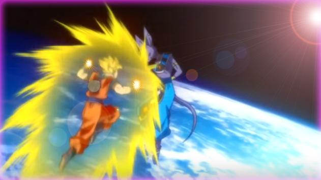 Goku Super Saiyan Power battle apk screenshot