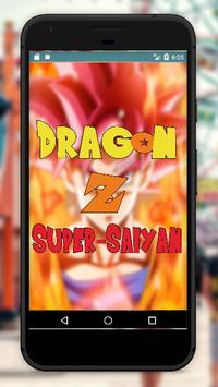 Dragon-Z Super Saiyan HD4K Wallpaper poster