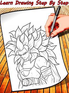 How To Draw Dragon Ball Characters screenshot 3