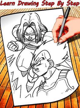 How To Draw Dragon Ball Characters screenshot 1