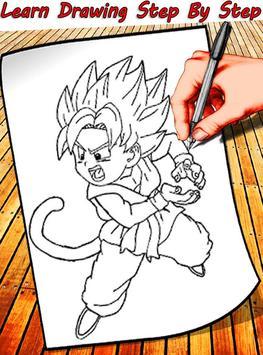 How To Draw Dragon Ball Characters screenshot 2