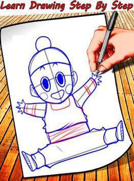How To Draw Dragon Ball Characters screenshot 4