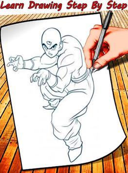 How To Draw Dragon Ball Characters screenshot 5