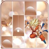 Dragon Ball Piano Tiles Music icon