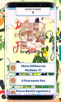 Dragon Ball Piano Tiles Music poster