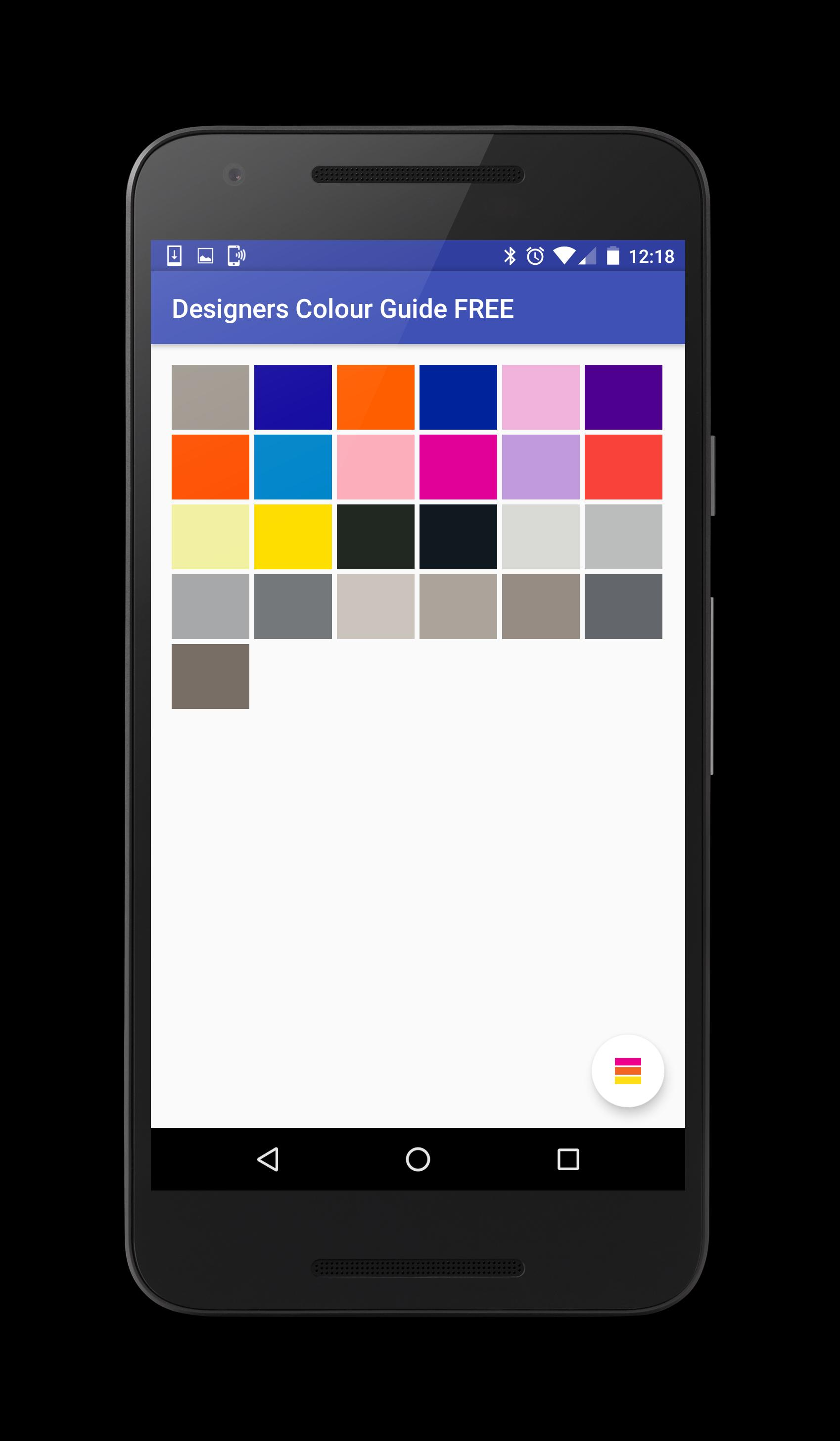 Designers Colour Guide FREE poster