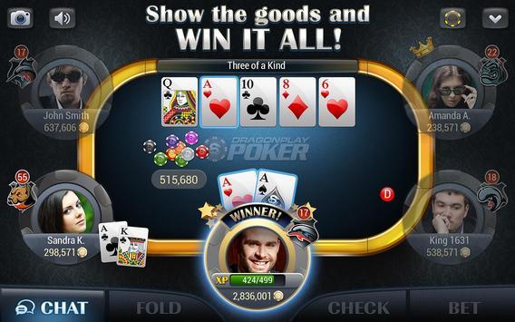 Dragonplay™ Poker Texas Holdem poster