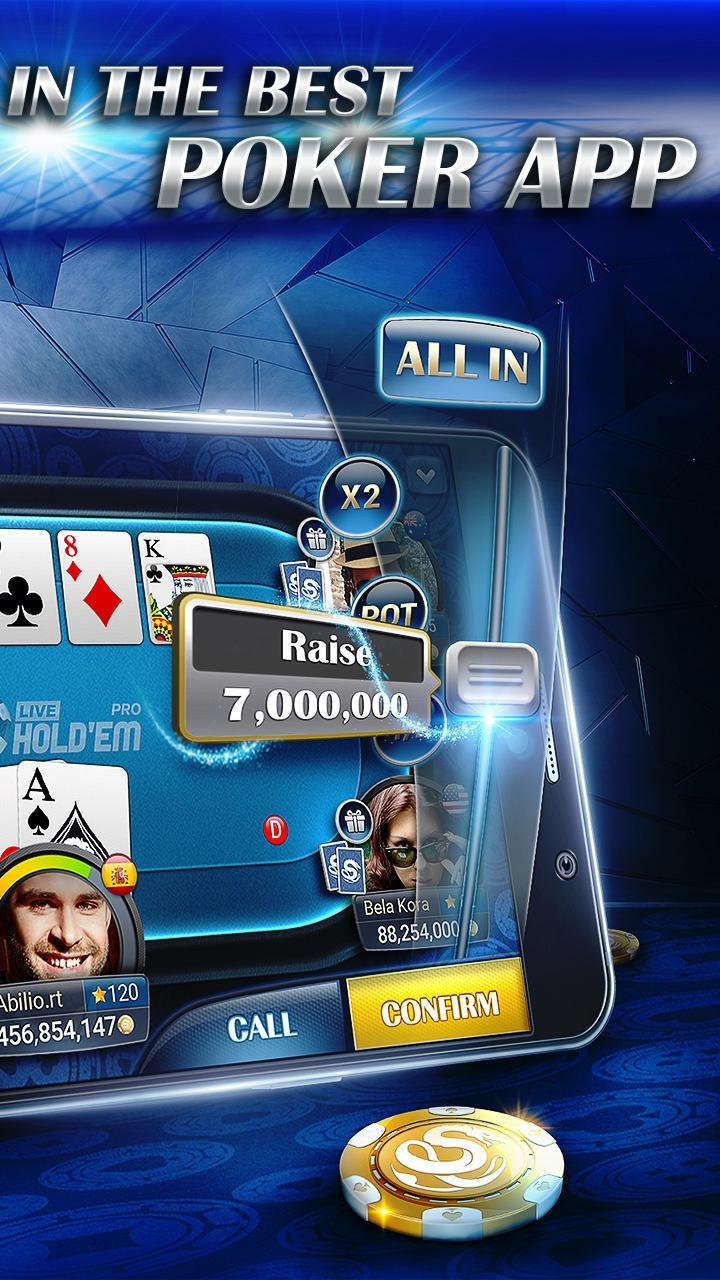 Live Hold Em Pro Poker Free Casino Games For Android Apk Download