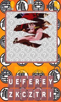 Quiz Songoku Saiyan Dbz Anime poster