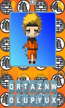 Quiz Songoku Saiyan Dbz Anime screenshot 11