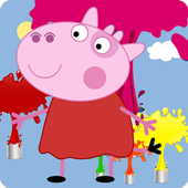 Peppy Cow Coloring icon