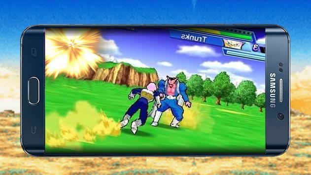 Goku Fighting Vegeta Battle poster