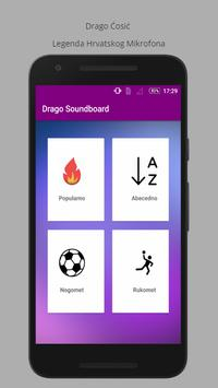 Drago Cosic Soundboard poster