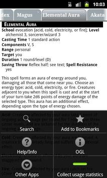 PF RPG Reference Lite [NEW] apk screenshot
