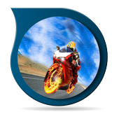 Drag Race Motocycle Reference icon