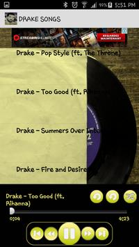 Drake Songs Music Album MP3 screenshot 3