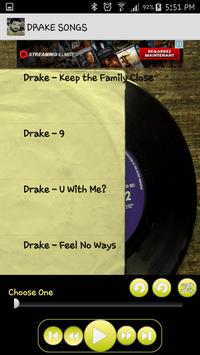 Drake Songs Music Album MP3 screenshot 1